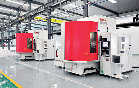 NILES CNC Gear Grinding Machine From Germany