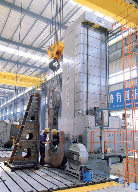 Large CNC Standing Milling And Boring Machine