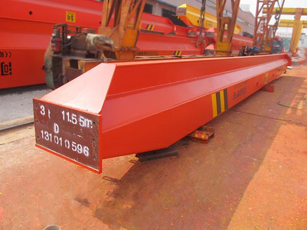 Single Girder Overhead Crane Delivery to Nigeria