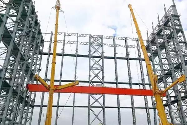 Bridge Crane Installation For Qinghai Electric Power