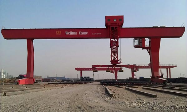 A Set Of Gantry Crane With L-Shaped Legs Delivery To Uzbekistan