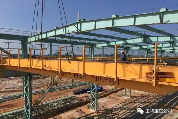 Overhead Crane Installation for Steel Plant in Malaysia