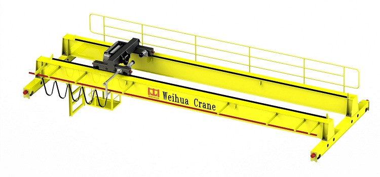Use of the safety skid line on Weihua Crane