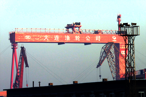 ship build gantry crane