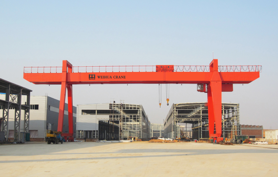 What is a gantry crane?