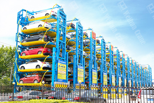 Vertical Car Parking System