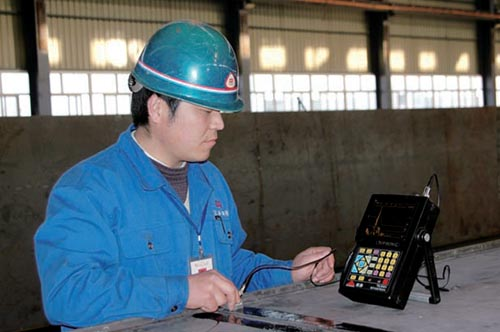 Making Ultrasonic Flaw Detection For Welding Quality