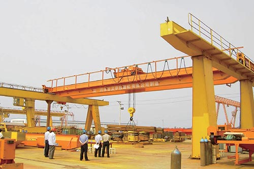 300t Single-Beam And Double-Beam Crane Test Platform